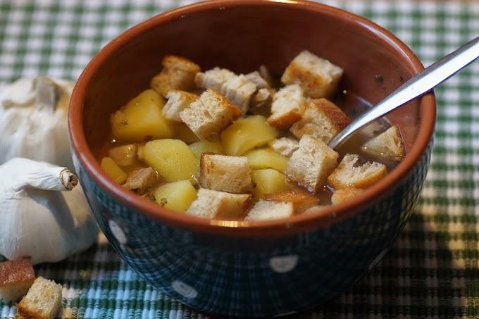 Lemon And Garlic Soup
