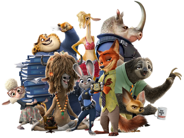 Foto dan Video Zootopia Movie