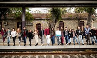 Φεστιβάλ Νέων Καλλιτεχνών 'Τα 12 Κουπέ' στο Τρένο στο Ρουφ
