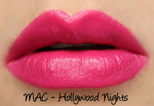 MAC MONDAY | Heatherette - Hollywood Nights Lipsticks Swatches & Review