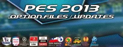 Option File PES 2013 untuk PESEdit Patch 6.0 update 12-09-2016