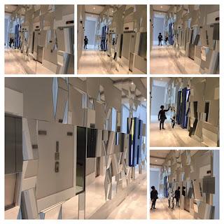foto de Espelho em 3D parede toda