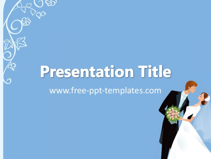 wedding ppt template, Powerpoint templates