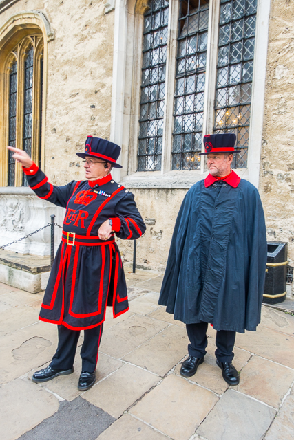 Beefeaters Tower of London - London, England