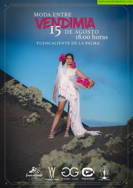 Fuencaliente celebra Moda Entre Vendimia, con la presencia de los diseñadores palmeros Waleska Morin y Pedro Juan Glez