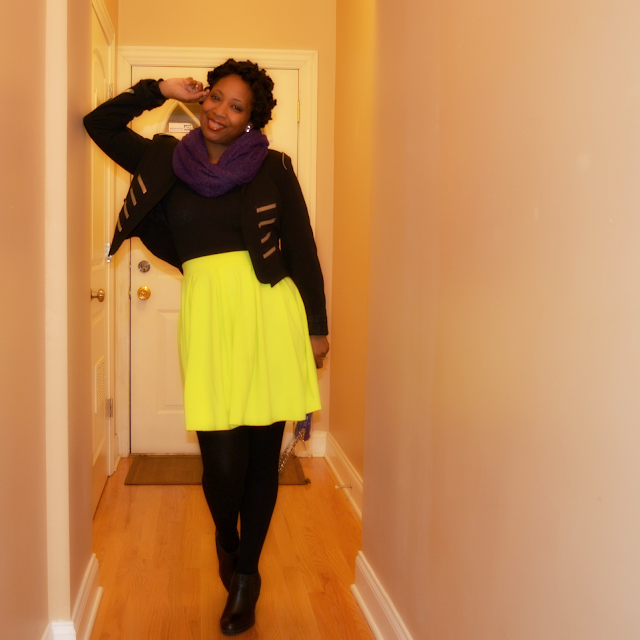lime green skater skirt ideas
