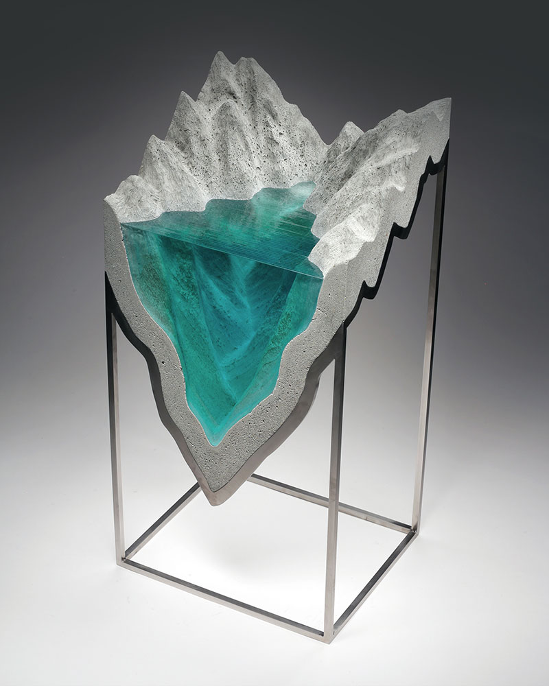 Ben Young Sculptures New Layered Glass Sculptures By Ben Young