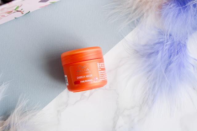 Питательная крем-маска для нормальных и тонких волос Wella Professionals Enrich