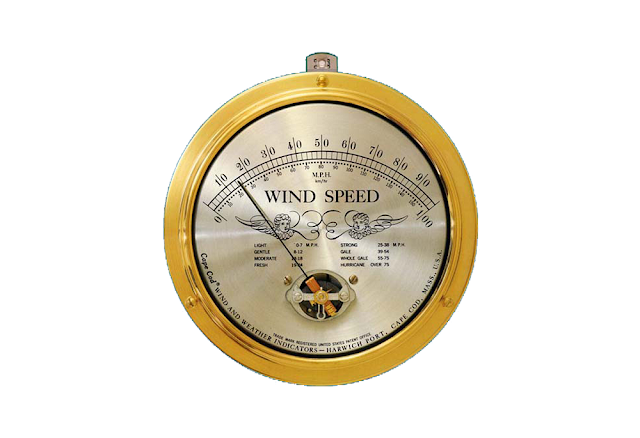 "Cape Cod® Wind Speed Indicator with ""Peak Gust"" Upgrade"