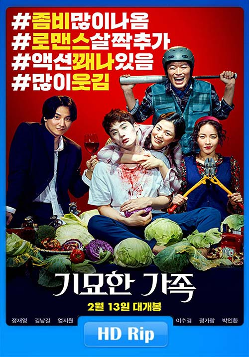 The Odd Family Zombie on Sale 2018 720p HDRip x264 | 480p 300MB | 100MB HEVC Poster