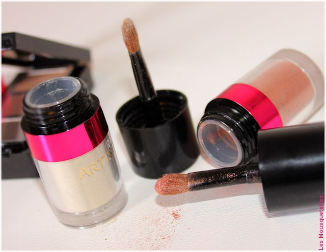Artistry - Spring Make Up Collection - Fards à paupières - Blog beauté
