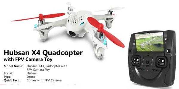 Drone Mini Murah Terbaik Untuk FPV Hubsan X4