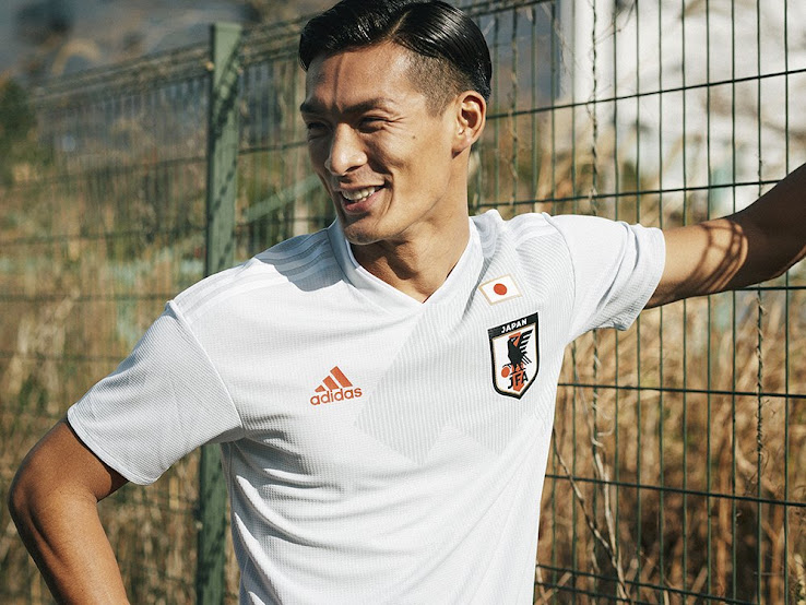 cf77eb505 The new Adidas Japan 2018 World Cup away kit introduces an understated  design to complement the dark blue home uniform. +2. 3 of 3