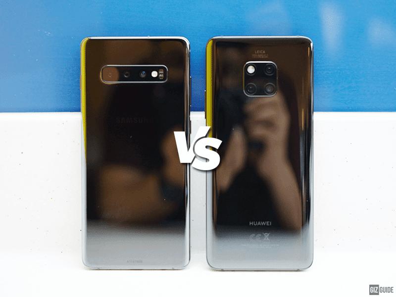 Samsung Galaxy S10+ vs Huawei Mate 20 Pro Specs Comparison