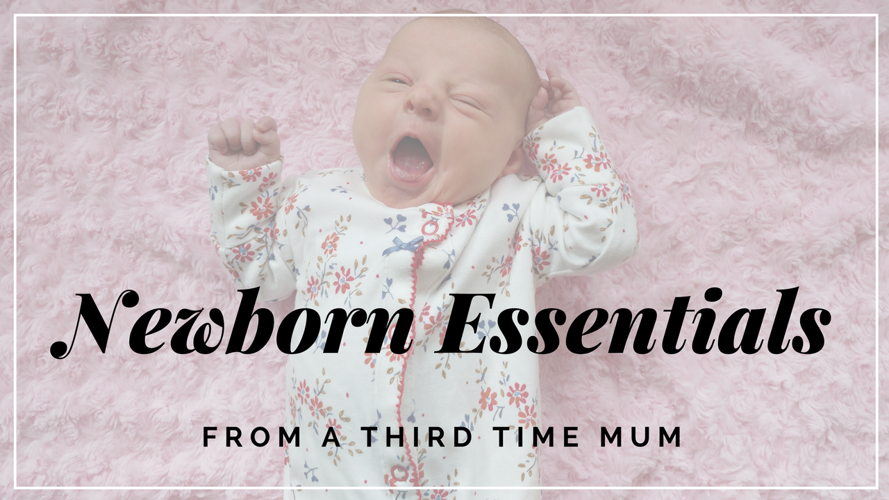 Baby's need very little in those early days, but these are definitely the items I could never go without these newborn essentials.
