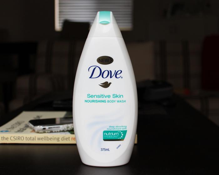The Makeup Bubble Review Dove Sensitive Skin Nourishing Body Wash