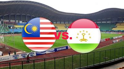 Live Streaming Malaysia vs Tajikistan AFC B-19 22.10.2018