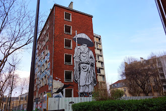 Sunday Street Art : SteW - rue Fulton - Tour 13 - Paris 13