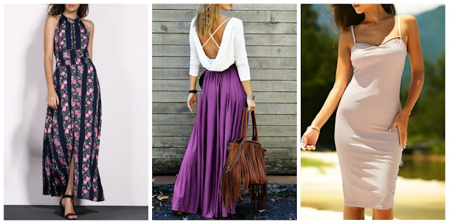 My Rosegal Wishlist: Cross Back Dress