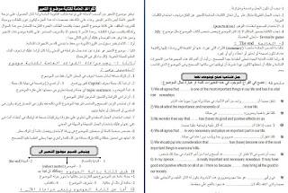 القواعد العامة لكتابة موضوع التعبير (البراجراف) كيف تحترف كتابة البراجراف صور وملف وورد,للاستاذ محمد عبد الجابر