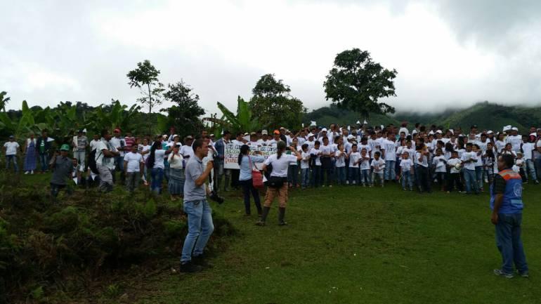 Las @FARC_EPaz y la reconciliación en Apartadó, Antioquia
