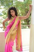 pavani new photos in saree-thumbnail-28