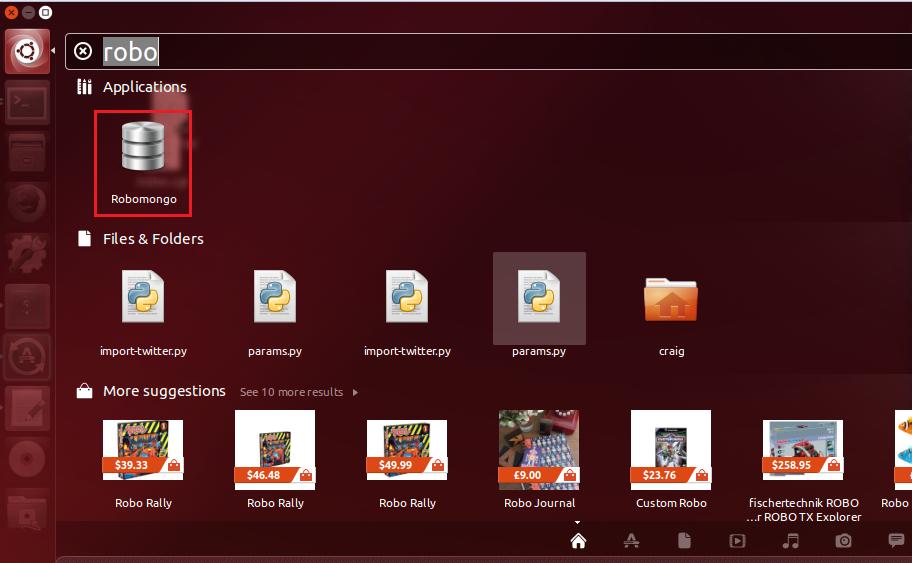 Uninstall Robomongo Ubuntu