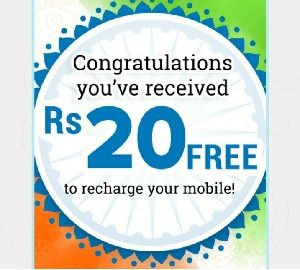 Proof/Loot) Vodi App – SignUp Rs 20 Free Recharge , Refer Earn