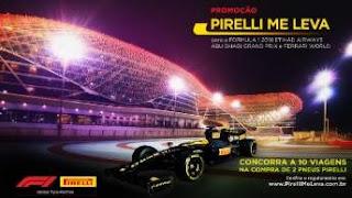 Cadastrar Promoção Pirelli Me Leva Fórmula1 Abu Dhabi e Ferrari