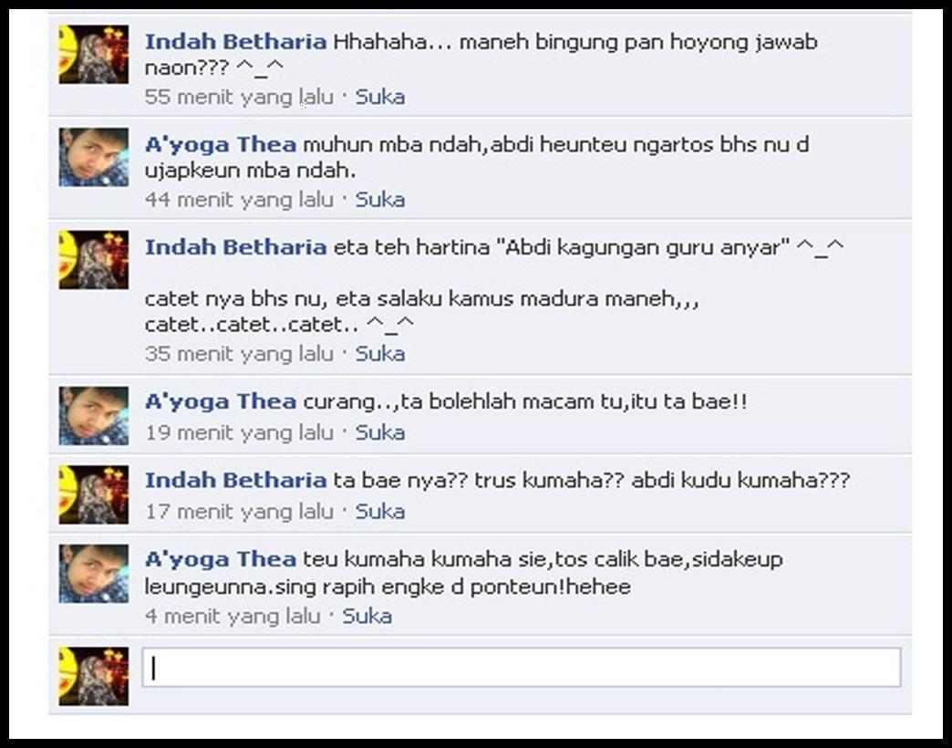 Betha Blog Sunda Malaysia