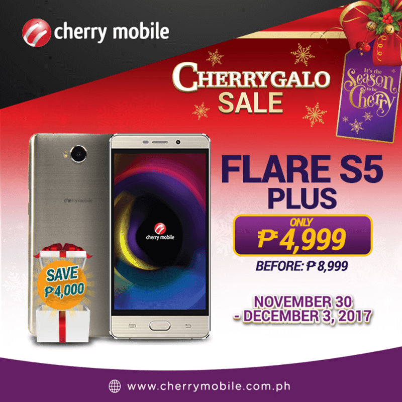 Sale Alert: Cherry Mobile Flare S5 Plus is down to PHP 4,999!