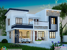 1748 Square Feet Modern 4 Bedroom House Plan Kerala Home