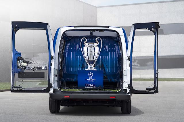 e-NV200 UEFA Champions League Trophy Carrier 2016