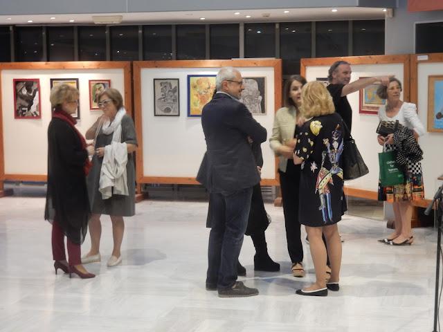 Εγκαινιάστηκε η έκθεση «Γέφυρες Τέχνης» με έργα των μαθητών των φυλακών Λάρισας στην Πινακοθήκη (ΦΩΤΟ)