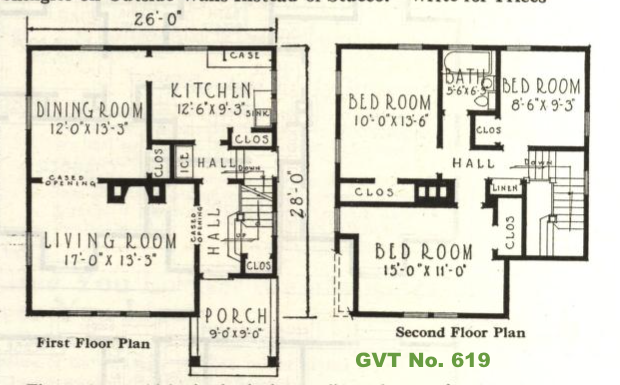 GVT No. 619 floor plan