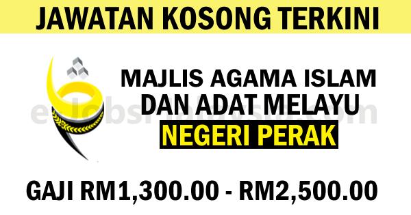 Majlis Agama Islam Dan 'Adata Melayu Perak