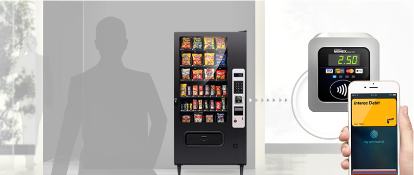 Vending Machine TAP&PAY using Android in Canada ~ Android