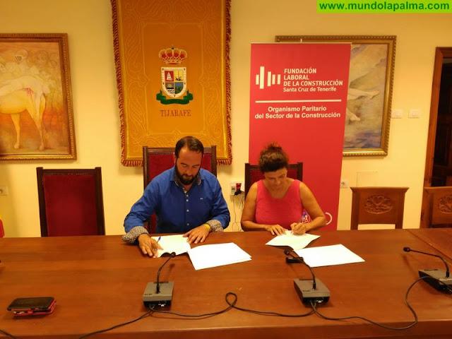 Tijarafe apuesta por mejorar la empleabilidad en el sector de la construcción