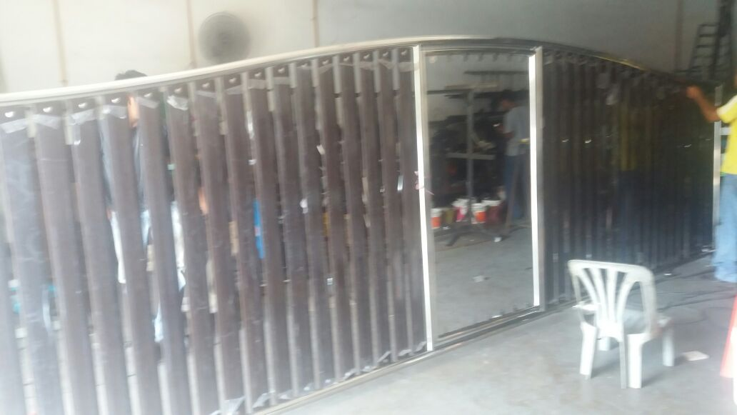 ROSHDI ENTERPRISE metal works PINTU PAGAR STAINLESS