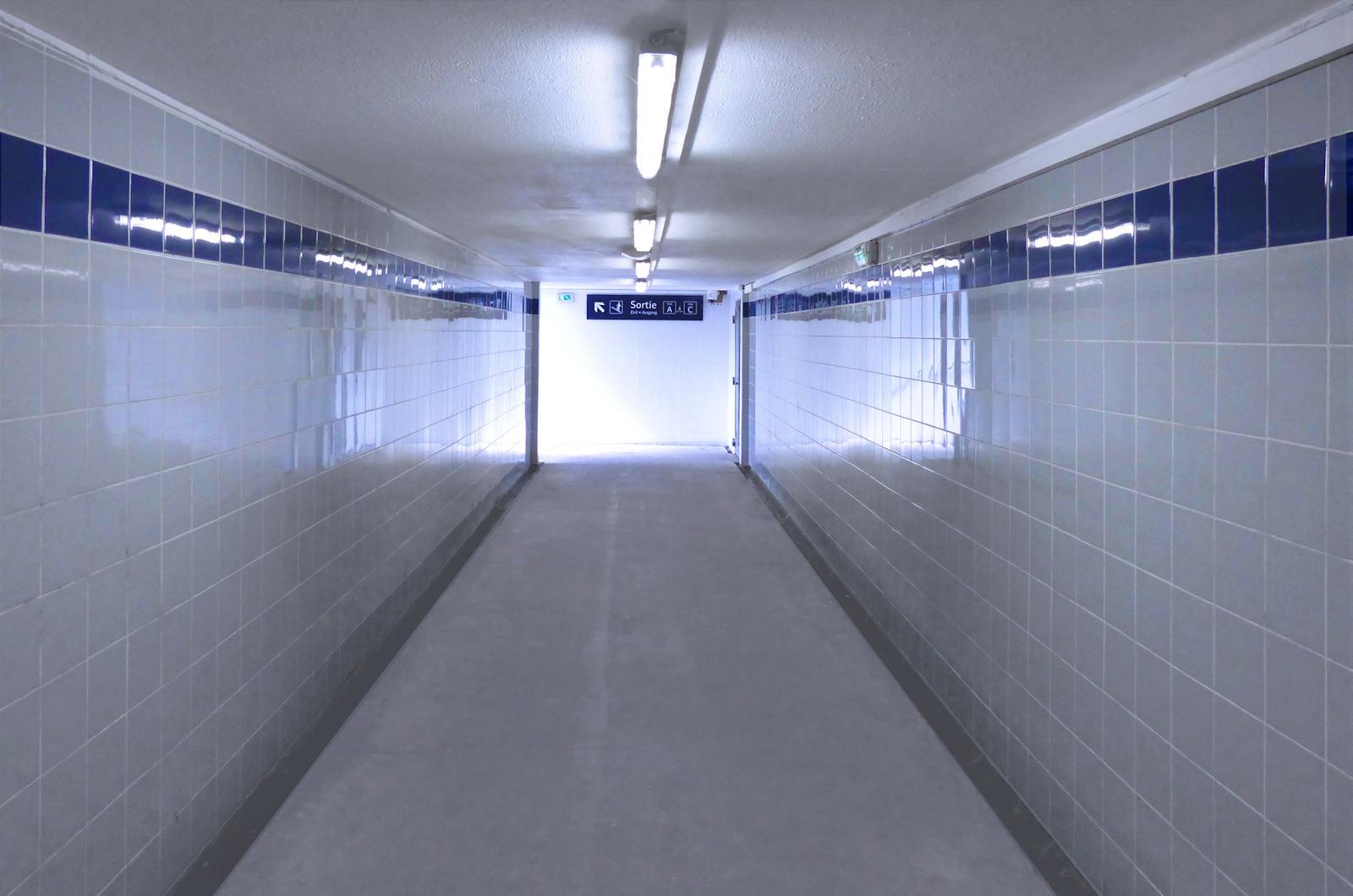 Gare de Tourcoing - Passage sous-voies