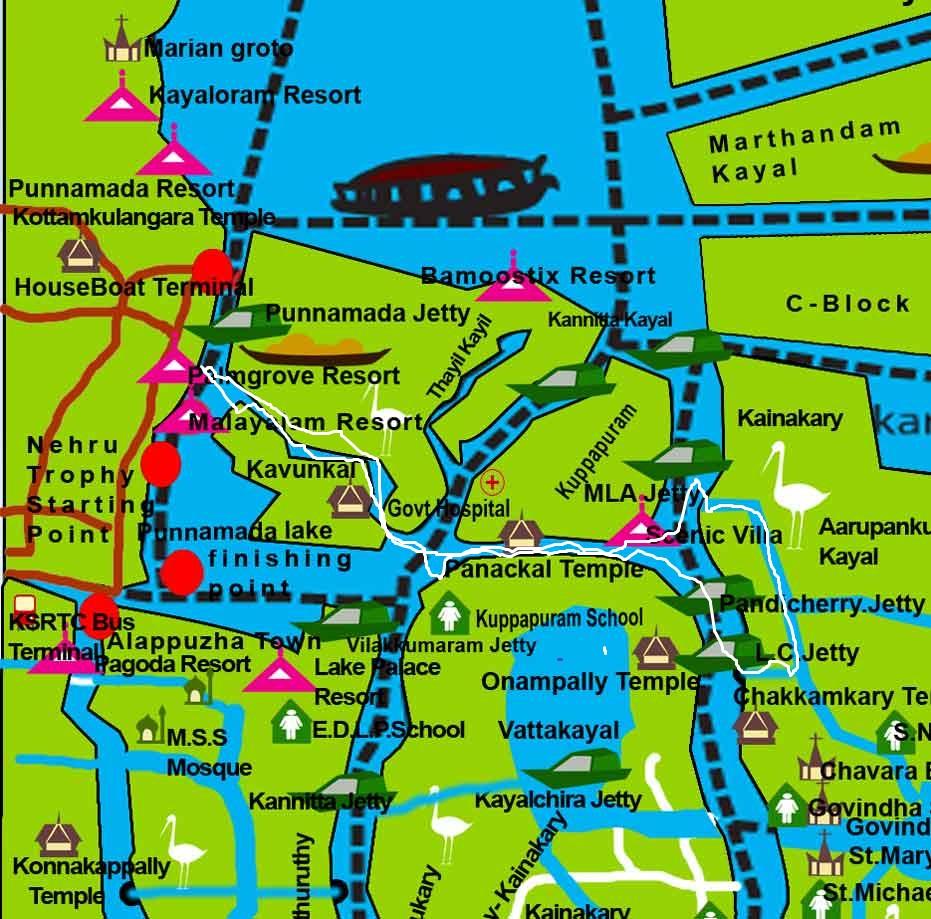 Munroe Island Backwaters Homestay Home: Kerala Kayaking: Village Canoe Tour Alleppey