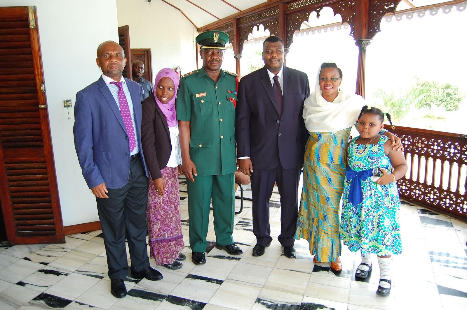 Dk Shein Amuapisha Mwanasheria Mkuu wa Zanzibar Ikulu Leo ...
