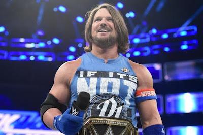 A J Styles WWE Champion