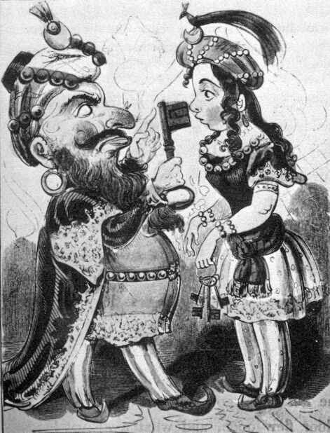 瘋女遊樂園: 《藍鬍子》之傳統與流變之一:佩羅版本的《藍鬍子》