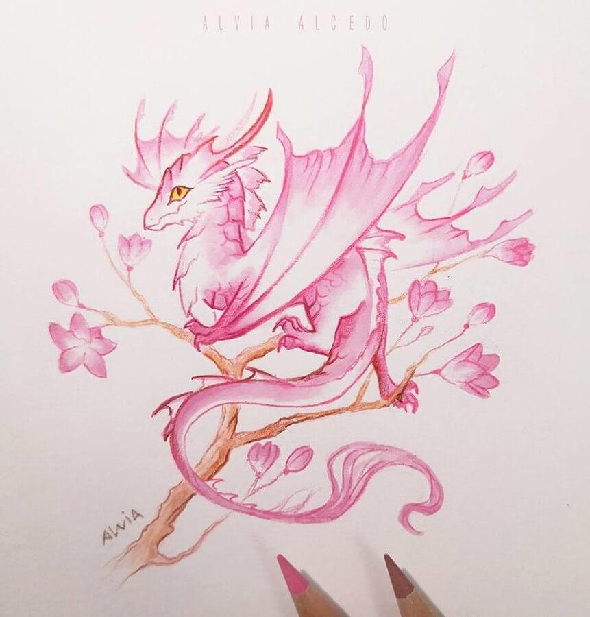 07-Flower Wyvern-Alvia-Alcedo-www-designstack-co