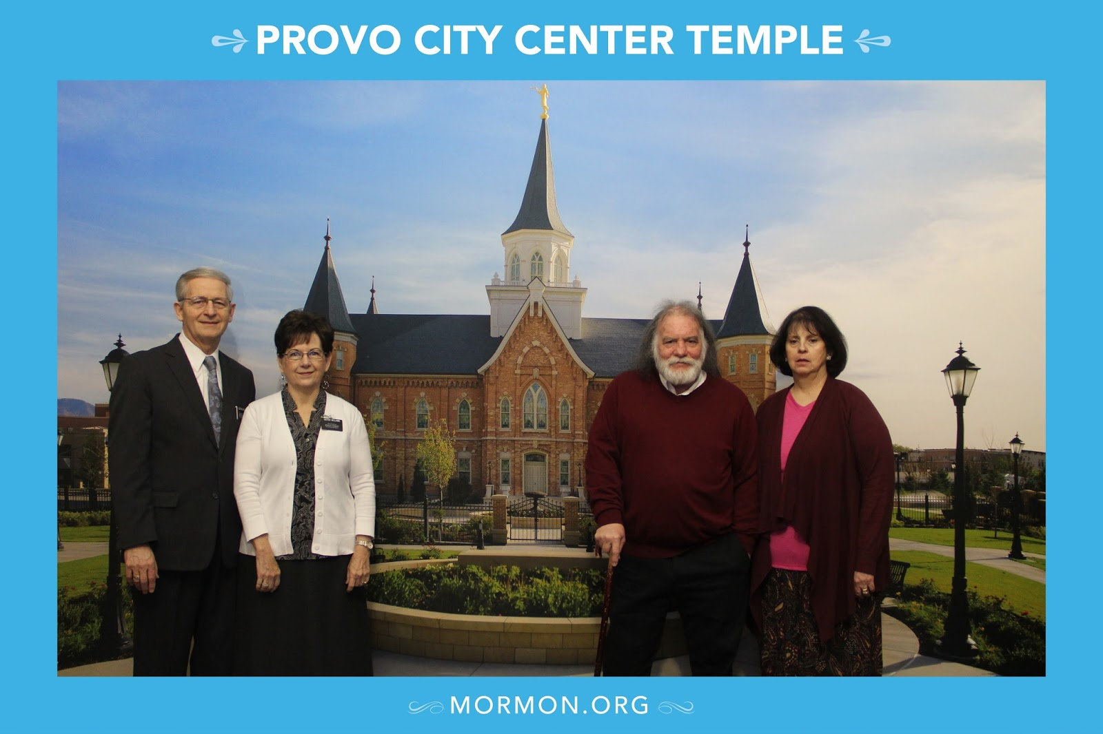 We Attended The Provo City Center Temple Open House Today With Our Dear  Friendu0027s Steve And Debbie. We Enjoyed The Tour And Are Very Excited For The  ...