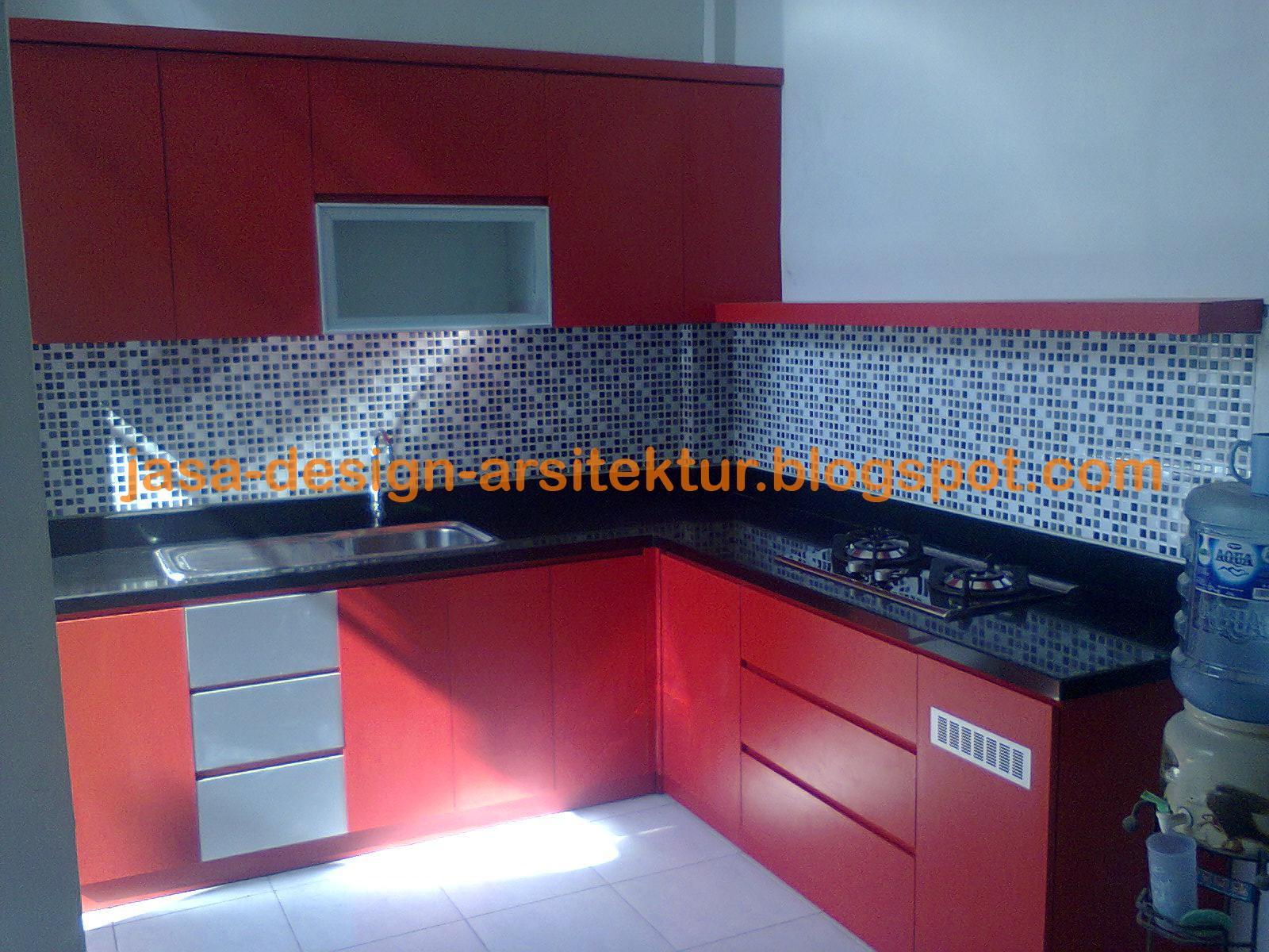 517 All New Kitchen Set Warna Merah