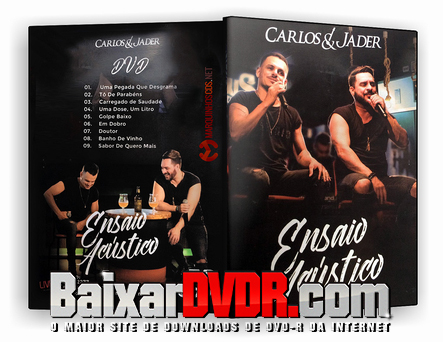 Carlos E Jader (2017) DVD-R OFICIAL