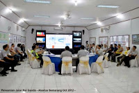 Kontraktor Furniture Interior - Meja Rapat Kapasitas 21 Orang