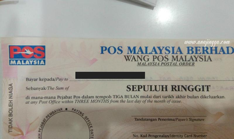 Wang Pos atau Postal Order